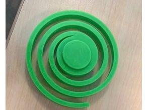 Hypnotic Spiral Fidget Spinner