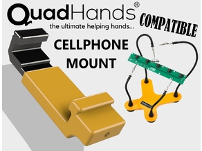 Quadhands Helping Hands Cellphone Mount Attachment