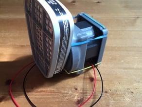 3m organic vapor adapter for RodLaird's Rep2/2X Scrubber