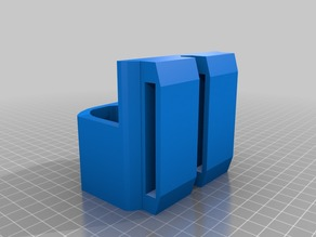 (Updated) Nerf Rival mag holder(belt attached)