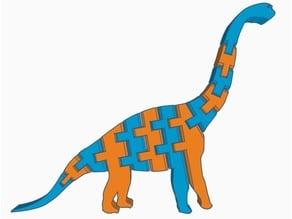 Yet Another Flexi Brachiosaurus (Dual Extrusion)