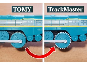 TOMY to TrackMaster Tire Conversion