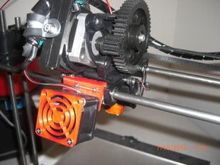 Robo 3d front mount fan adapter