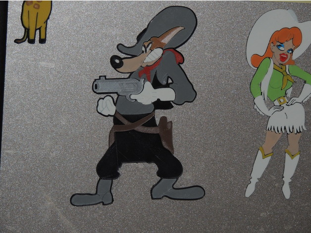 Wolf Wild And Woolfy Tex Avery By Jayomega Thingiverse