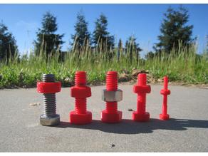 Parametric Nuts and Bolts