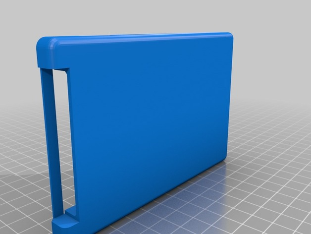 Gameboy Advance SP Enclosure by oquarmby - Thingiverse