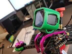 FuriBee GT215, TransTEC Lightning GoPro Session TPU mount