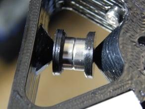 Standard 623ZZ ball bearing flange