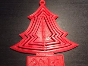 Christmas Tree Ornament 2016