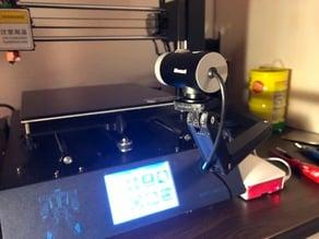 Anycubic i3 Mega Microsoft Lifecam Cinema arm mount
