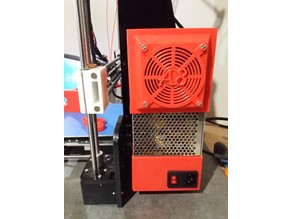 case power supply and fan cover for anet A8