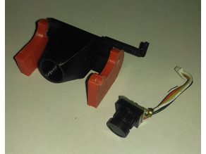 Micro FPV camera holder for FPV-Rover (or FPV-Copter)
