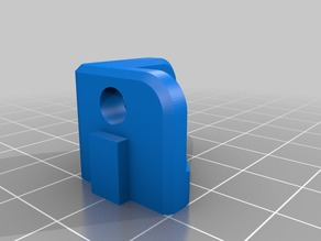 BED SUPPORT BRACKET w long hole