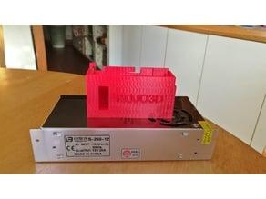 Tronxy S-250-12 Power Supply Cover. Rojo3D All Metal Printer