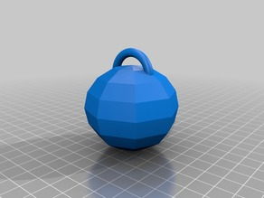 Low-Poly Christmas Bauble
