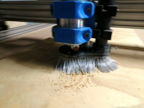 OX CNC Router Shoe - Dust Collector