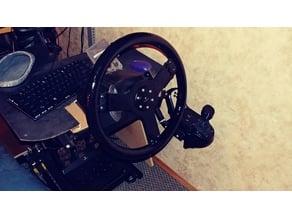 """Fully printable 15"""" steering wheel for Logitech g25/27/29"""