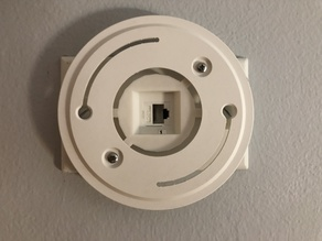 EnGenius AP Mount to Wall-Plate Adapter