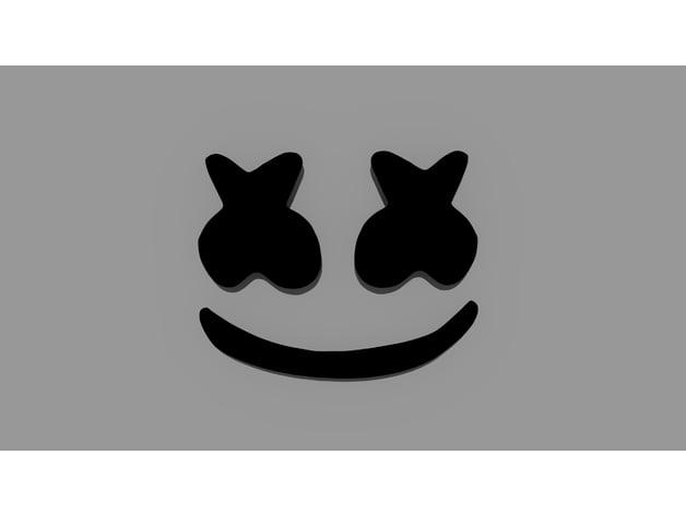 Marshmello Head By Yoyosantos Thingiverse