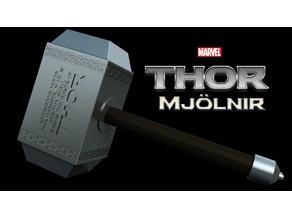 Mjolnir Comic Book Version