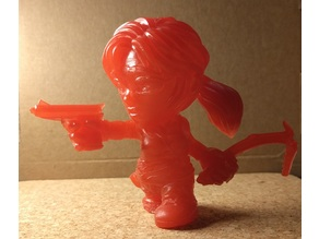 Lara Croft Toon Figurine - manifold hollow