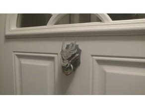 Magnetic Dragon Door Knocker