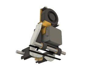 XYZ Printing Da Vinci 1.0/2.0 part cooling duct
