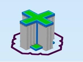 Customizable 3D printer support test