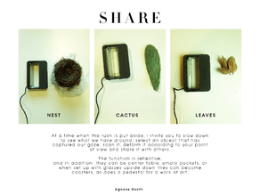 SHARE (NEST, CACTUS, LEAVES)