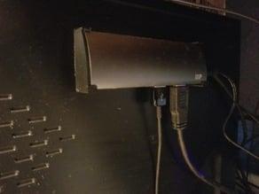 Mounting bracket for Monoprice 4 port usb hub