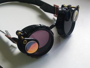Steampunk Goggles using 52mm Photographic Filters