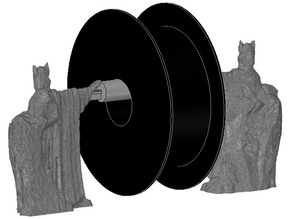 The Argonath from The Lord of the Rings Filament Spool Holder