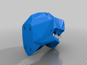 Low Poly T-Rex bottle opener