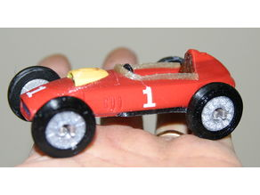 Ferrari 246 F1 with motor, seat and steering wheel (9 colors)