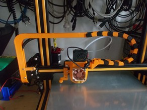 CR-10 Chain Cable X-Axis