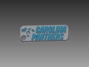 Carolina Panthers Keychain