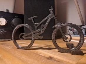 Black Pearl (Juno Boman's YT Tues Downhill Bike)