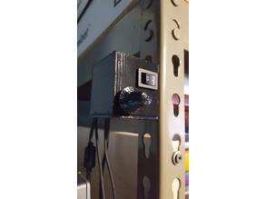 Enclosure for DROK DC 12V Micro Stereo AMP