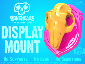 Boneheads: Display Mount - PROMO - via 3DKitbash.com