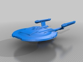 Star Trek Nx-01 Refit 1:350 Hollow