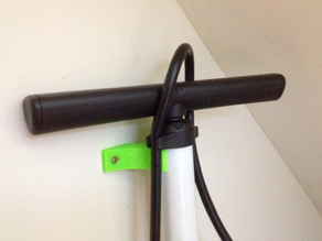 Bicycle Pump Wall Mount