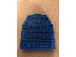 Chicago Cubs World Series Marquette