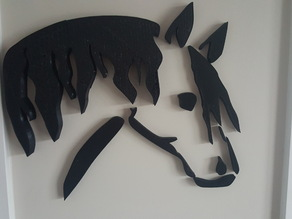 Horse Head Wall Art