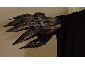 Nazgul costume - gauntlet components