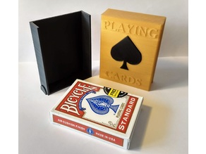 Playing cards protection box