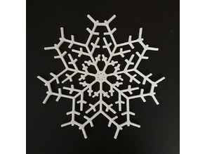Customizeable Fractal Snowflakes