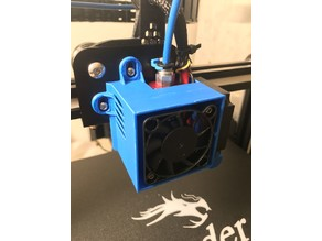 Stock Fan Shroud - Ender 3