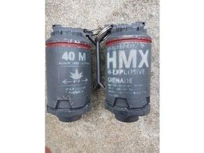 Stencils for Elysium High Ex Grenade Props