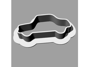 Car cookie cutter slicer