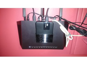 Portable Hard Drive Caddy for Netgear Nighthawk R7000 Easystore